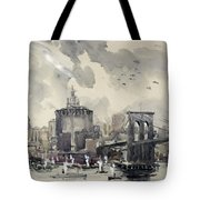 Return Of The World Fliers Tote Bag