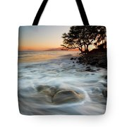 Return To The Sea Tote Bag by Mike  Dawson