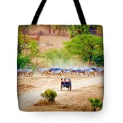 Returning From Pasture 13 Tote Bag