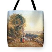 Returning Home From Market Tote Bag