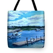 Returning To Sesuit Harbor Tote Bag