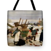 Returning To The Reconquered Land Tote Bag