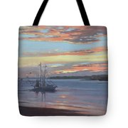 Returning With The Catch Tote Bag