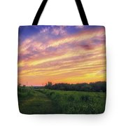 Retzer Nature Center - Summer Sunset #4  Tote Bag