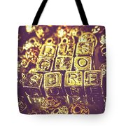 Revealing Mysterious Of Space Tote Bag