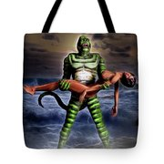 Revenge Of The Creature Tote Bag