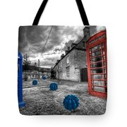 Revenge Of The Killer Phone Box  Tote Bag by Rob Hawkins