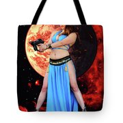 Revenge Of The Space Princess Tote Bag