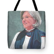 Reverend Mary Gregorius Tote Bag