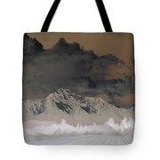 Reverse Landscape Tote Bag