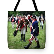 Reviewing The Troops Tote Bag