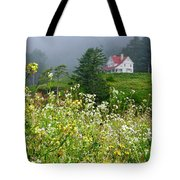 Revisiting A House Tote Bag