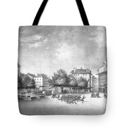 Revolution Of Geneva 1846 Place Bel-air Tote Bag