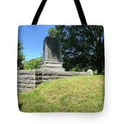 Revolutionary War Monument  Tote Bag
