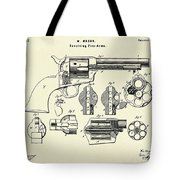 Revolving Fire Arm-1875 Tote Bag