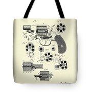 Revolving Fire Arm-1881 Tote Bag