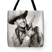 Rex Allen, Vintage Actor Tote Bag