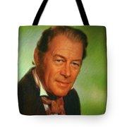 Rex Harrison, Actor Tote Bag
