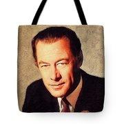 Rex Harrison, Vintage Actor Tote Bag