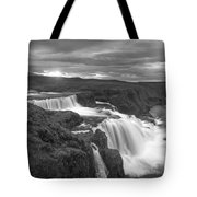 Reykjafoss Waterfall Iceland 3996 Tote Bag
