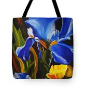 Rhapsody In Blue Tote Bag