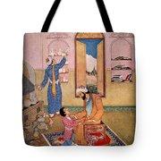 Rhazes, Islamic Polymath Tote Bag
