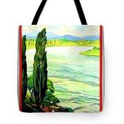 Rhine River, Alsace, France Tote Bag
