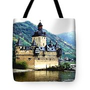 Rhine River Castle Tote Bag