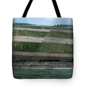Rhine Valley Vineyards Panorama Tote Bag