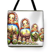 Rhinestones Of Moscow Tote Bag