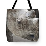 Rhinoceros Tote Bag by Tom Mc Nemar