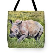 Rhinosceros Tote Bag