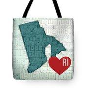 Rhode Island Cities Tote Bag