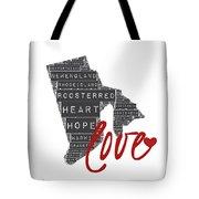 Rhode Island Love Tote Bag