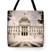 Rhode Island State House Tote Bag