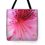 Rhododendron Flower Macro Pink Rhodies Baslee Troutman Tote Bag