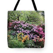 Rhododendron Hill Tote Bag