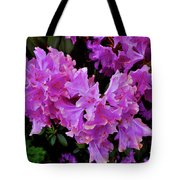 Rhododendron Pink Tote Bag