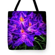 Rhododendron Topaz Tote Bag