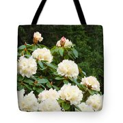 Rhododendrons Floral Landscape Art Prints Baslee Troutman Tote Bag