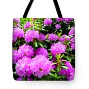 Rhododendrons In Bloom Tote Bag