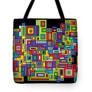Rhythm 102 Tote Bag by Cynthia Friedlob