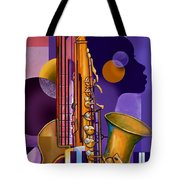 Rhythm Child Tote Bag