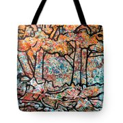 Rhythm Of The Forest Tote Bag