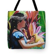 Rhythm Of The Hula Tote Bag