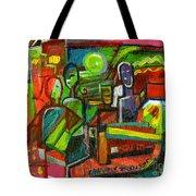 Rhythm Of The Night Tote Bag