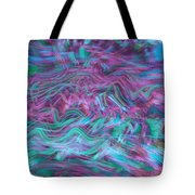 Rhythmic Waves Tote Bag