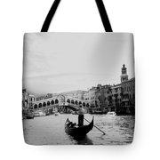 Rialto Bridge In Venice  Tote Bag