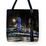 Rialto Theater Tote Bag
