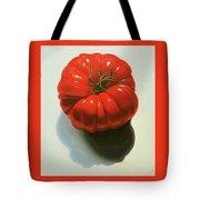 Ribbed Heirloom Tomato Tote Bag